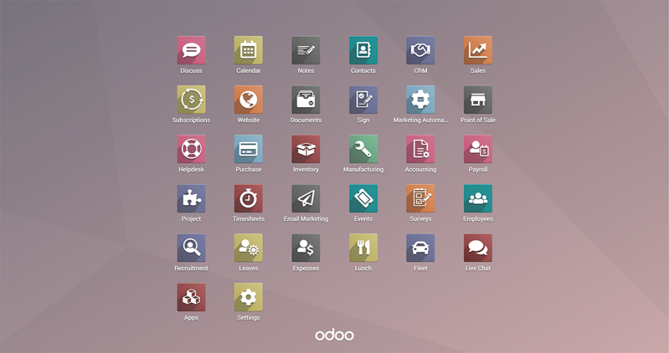 odoo_ERP_interface